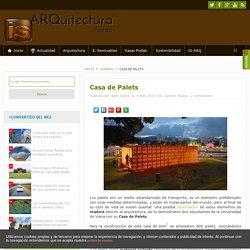 Pallet House: edificio hecho con PALETS reutilizados