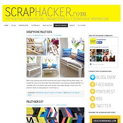 Pallet Hacks - ScrapHacker