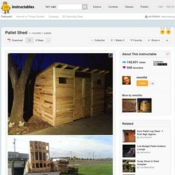 Pallet Shed: 9 Steps (with Pictures)