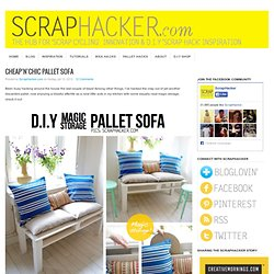 DIY Pallet Sofa Tutorial - Easy 10-Step DIY guide!