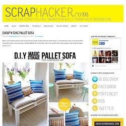 DIY Pallet Sofa Tutorial - Easy 10-Step DIY guide!