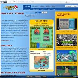 Pallet Town - The Pokémon Wiki