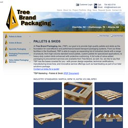 Wooden Skids and Pallets in Atlanta