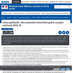 Soins palliatifs : des avancées concrètes grâce au plan national 2015-18