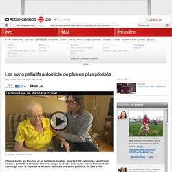 Les soins palliatifs à domicile de plus en plus priorisés