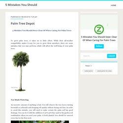 Palm Tree Depot