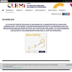 Palmarès 2018- CLEMI