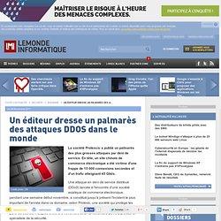 palmarès des attaques DDOS dans le monde