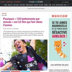 Palmarès Cannes 2017 : Grand Prix pour 120 battements par minute