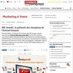 IMC Awards : le palmarès des champions de l'Internet français