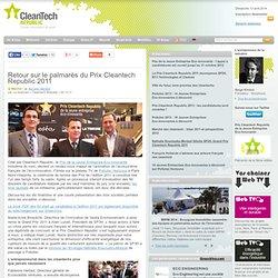 Retour sur le palmarès du Prix Cleantech Republic 2011