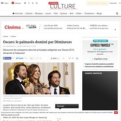 Oscars: le palmarès dominé par Démineurs