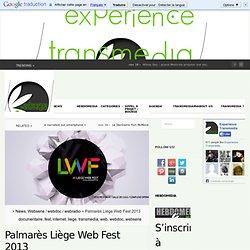 Palmarès Liège Web Fest 2013