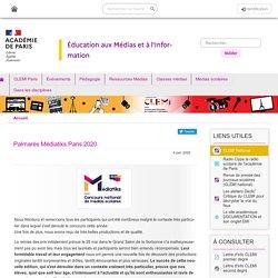 Palmarès Médiatiks Paris 2020