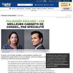 Palmarès exclusif : les meilleurs cabinets de conseil, par spécialité