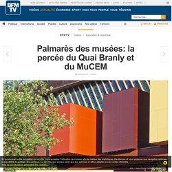 Palmarès des musées: la percée du Quai Branly et du MuCEM
