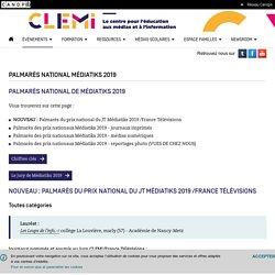 Palmarès national Médiatiks 2019- CLEMI