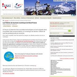 Les Palmes du tourisme numérique de Atout France