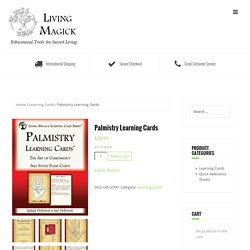 Palmistry Learning Cards – Living Magick Learning Series