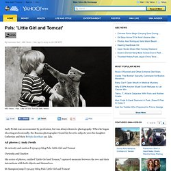 Pals: 'Little Girl and Tomcat'