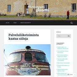 Palveluliiketoiminta kaataa siiloja – Vaihtoehtojen Suomi