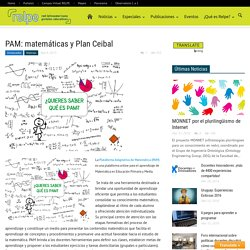 PAM: matemáticas y Plan Ceibal