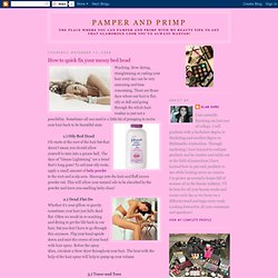 Pamper and Primp - StumbleUpon