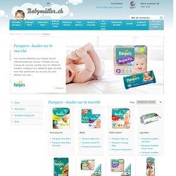 Pampers - Magasin pour bébé en ligne - Babymüller.ch