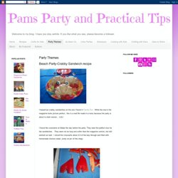 Pams Party & Practical Tips: Party Themes
