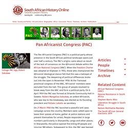 Pan Africanist Congress (PAC)