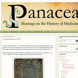 "Panacea: ""Death In The Pot!"" Part I"