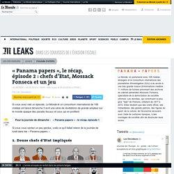 «Panama papers», le récap, épisode 2: chefs d'Etat, Mossack Fonseca et un jeu
