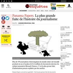Panama Papers. La plus grande fuite de l'histoire du journalisme
