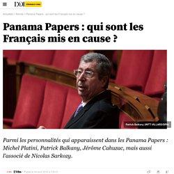 Panama Papers : qui sont les Français mis en cause ?