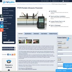 GE Panametrics PT878 Ultrasonic Flow Meter