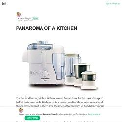 PANAROMA OF A KITCHEN – Karann Singh – Medium