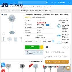Quạt Đứng Panasonic F-308NH Hồng- Giá Tốt - VATTU365