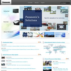 Panasonic Global Home