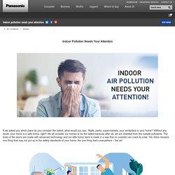 How Panasonic's Nanoe G Technology Take Care of Indoor Pollution?