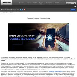 Panasonic's Vision of Connected Living – Meet the Future