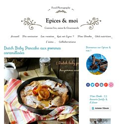 Dutch Baby Pancake aux pommes caramélisées