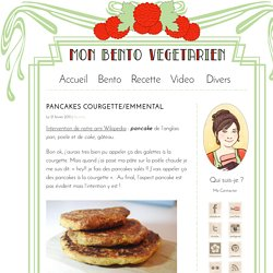 Pancakes Courgette/emmental