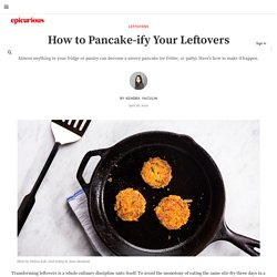 How to Pancake-ify Your Leftovers