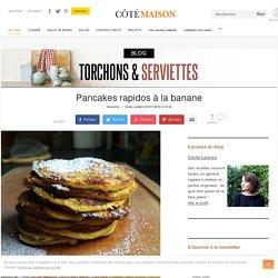 Pancake à la banane EASY