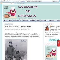 LA COCINA DE LECHUZA-Recetas de cocina con fotos paso a paso: PANCAKES: TORTITAS AMERICANAS