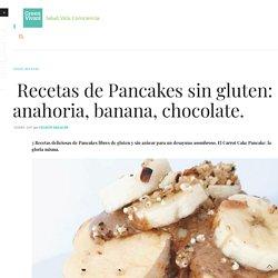 3 Recetas de Pancakes sin gluten: zanahoria, banana, chocolate. - Green Vivant