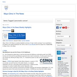 Mayo Clinic In The News