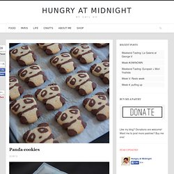 Panda cookies - Hungry at MidnightHungry at Midnight