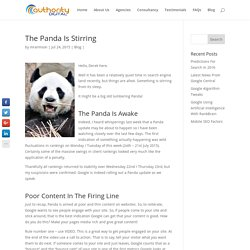 Panda Google Algorithm Update July 2015