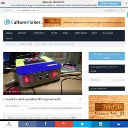 Panda: Le robot aspirateur DIY imprimé en 3D
